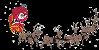 Weihnachtsmandala Rentierschlitten Weihnachtsmandala Zum Ausmalen